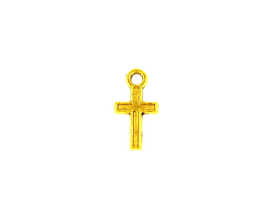 c69b366b31cf Σταυρουδάκι χρυσό 9χ15mm 20τμχ Z103